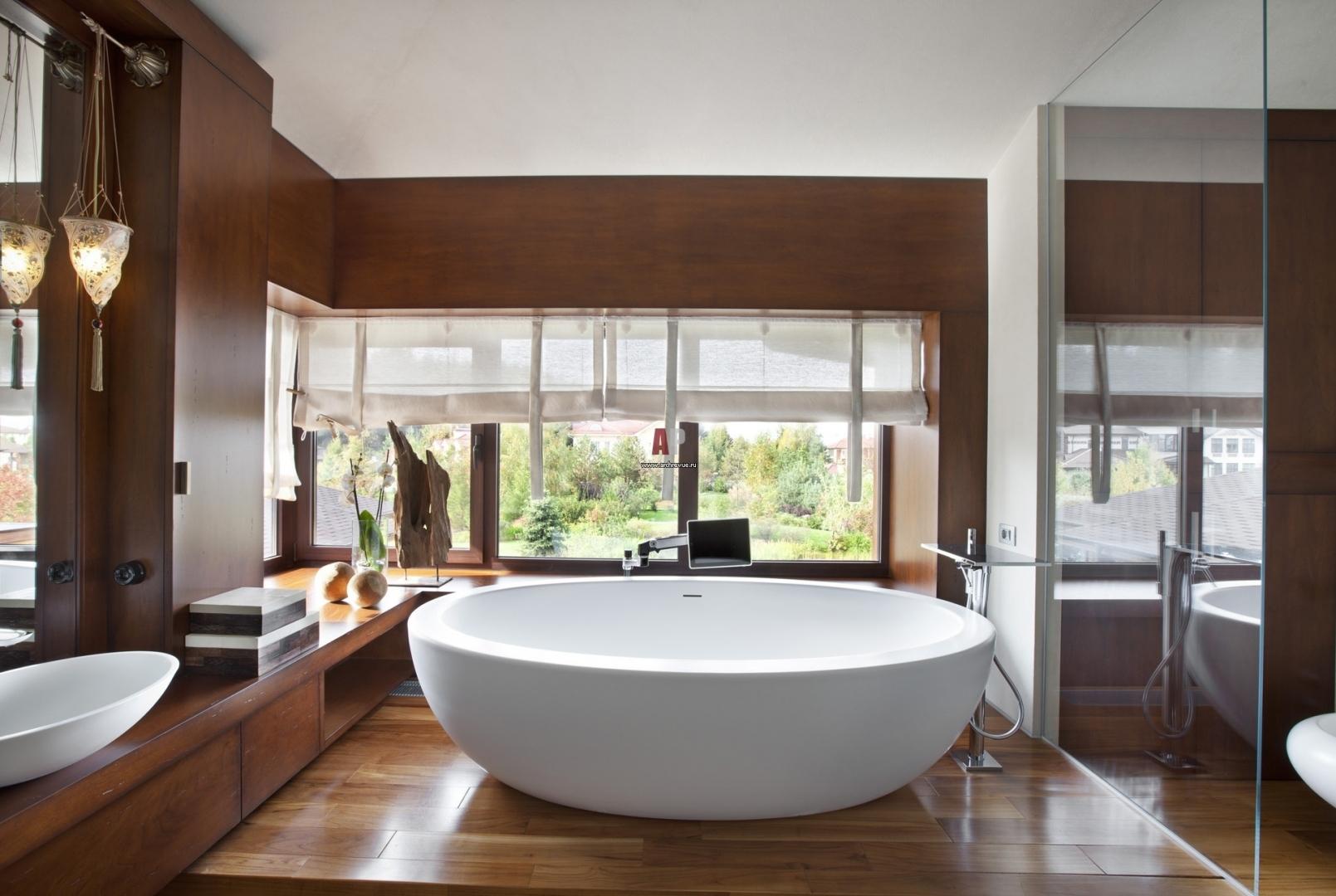 Ванная в стиле спа