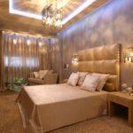 Освещение в спальне: критерии выбора