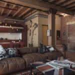 Гостиная в стиле лофт: советы от дизайнеров