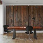 Креативные деревянные стены в квартире