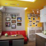 Интерьер маленькой кухни: интересные идеи