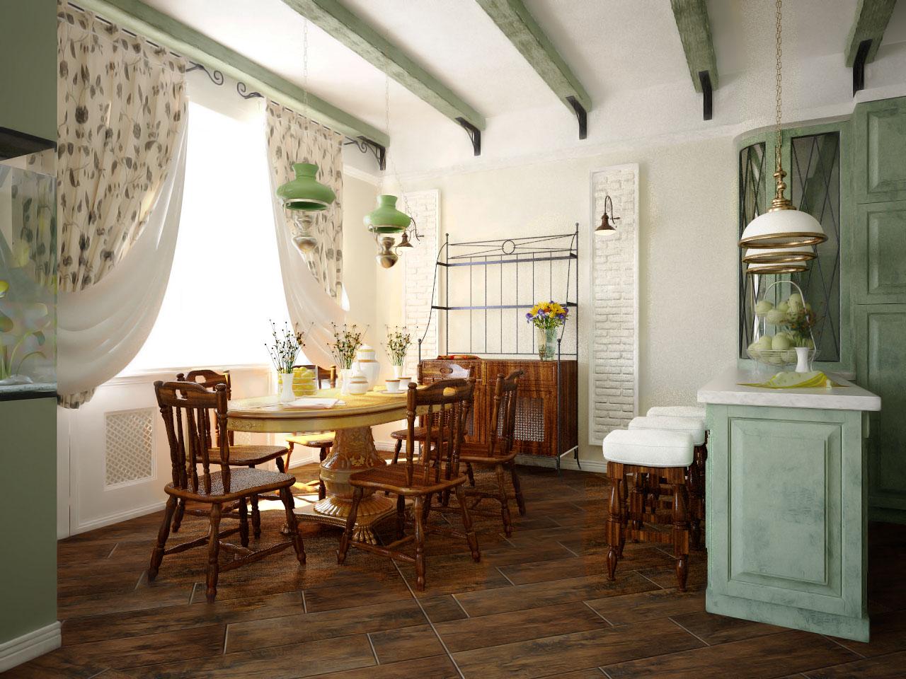 Как оформить интерьер дома в деревенском стиле кантри