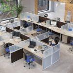Стиль офисных перегородок: американский и европейский