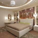 Освещение в спальной комнате: виды и особенности