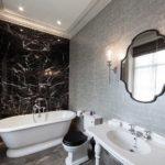 Варианты интерьера ванной комнаты