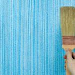 Оригинальная покраска стен подручными средствами