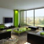 Интерьер в зеленых тонах: сочетания для разных комнат