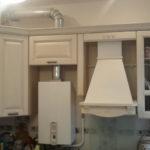 Как спрятать газовую колонку и водонагреватель: дизайнерские решения