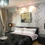 Дизайн стен в спальне: выбор цвета и материала