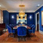 Синий цвет в интерьере: свойства и сочетание с другими оттенками