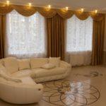 Какие шторы выбрать для гостиной: виды и расцветки