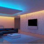 Многоуровневое освещение в квартире и его преимущества