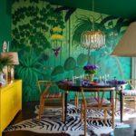 Тропический интерьер — буйство ярких красок