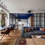 Зонирование квартиры с открытой планировкой
