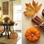 Осенняя палитра в интерьере