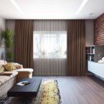Особенности дизайна прямоугольных комнат