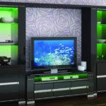Мебель для телевизора, оригинальные решения