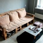 Стильный диван из поддонов, как сделать