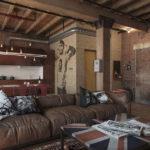 Самые креативные квартиры-студии для холостяка