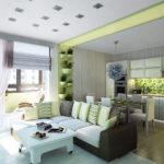 Как выполнить дизайн однокомнатной квартиры