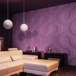Гипсовые 3Д панели для стен: преимущества и недостатки