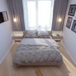 Как решить проблему интерьера маленькой спальни