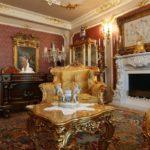 Стиль барокко в интерьере, популярен среди богатых