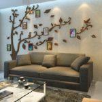 Бюджетные дизайнерские идеи, что повесить над диваном