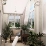 Организация пространства на балконе или лоджии