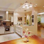 Различные виды освещения в кухне и их преимущества
