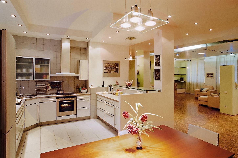дизайн дневной и кухни фото можно