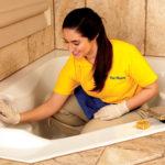 Как почистить ванную за 15 минут