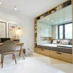 Кровать-подиум: компактное и функциональное решение для интерьера