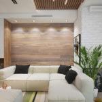 Дизайн-проект интерьера квартиры в стиле модерн в светлых оттенках