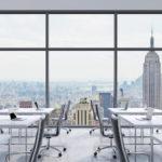 Оформление офиса в традициях делового Нью-Йорка