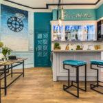 Кухня в стиле уютного кафе