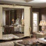 Итальянская мебель для спальни — шкафы