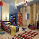 Как красиво оформить комнату для ребенка