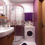 Как обустроить малогабаритную ванную комнату