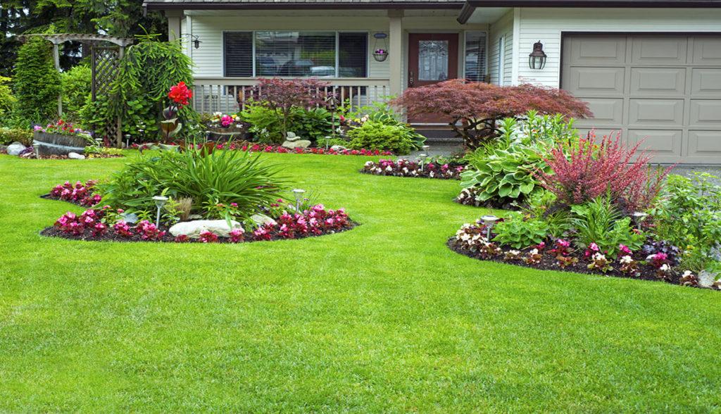 Дизайн цветников и газонов фото запчасти