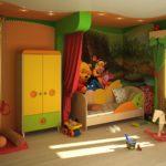 Герои мультиков в дизайне детской комнаты