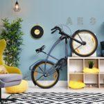 Креативные идеи для хранения велосипеда в квартире