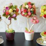 Топиарий из цветов – основные моменты создания