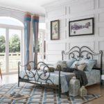 Красота и надежность кованых кроватей