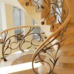 Кованные лестницы в дизайне интерьера