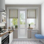 Балконная дверь: материалы, виды оформления