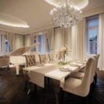 Гламурные интерьеры квартир и домов