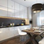 Современный стиль в оформлении кухни