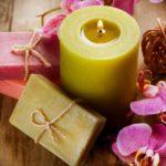 Как сделать красивые свечи своими руками