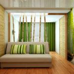 Бамбук в интерьере квартир